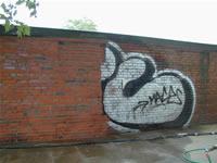 Graffiti nachher