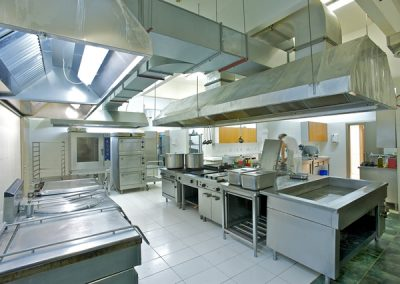 Reinigung von Großküchen in der Gastronomie
