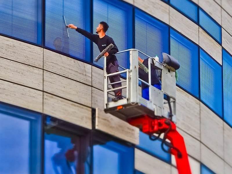 Fenster reinigen vom Fachmann | Glasreinigung