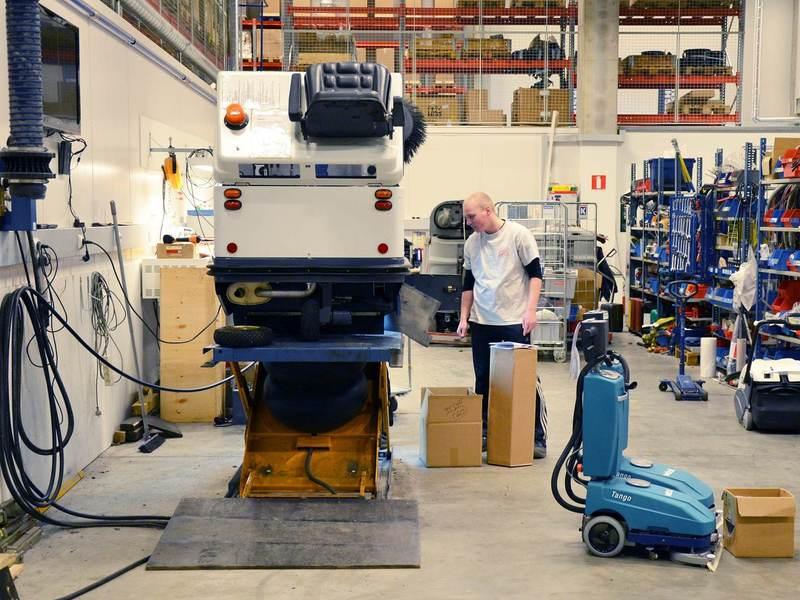 Reinigung von Produktion und Betriebsstätten