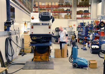 Unterhaltsreinigung für Industrie und Produktion